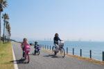 【海の中道海浜公園】海沿いコースで絶景サイクリング♪